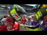Валентино Росси и Андреа Ианноне, квалификация MotoGP Гран-При Австрии