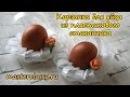 Поделки на Пасху. Корзинка для яйца из пластикового стаканчика
