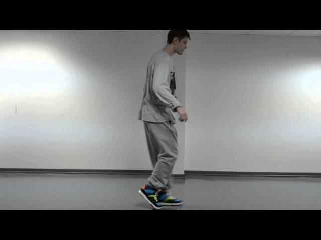 Лунная походка Майкла Джексона moonwalk (обучение)
