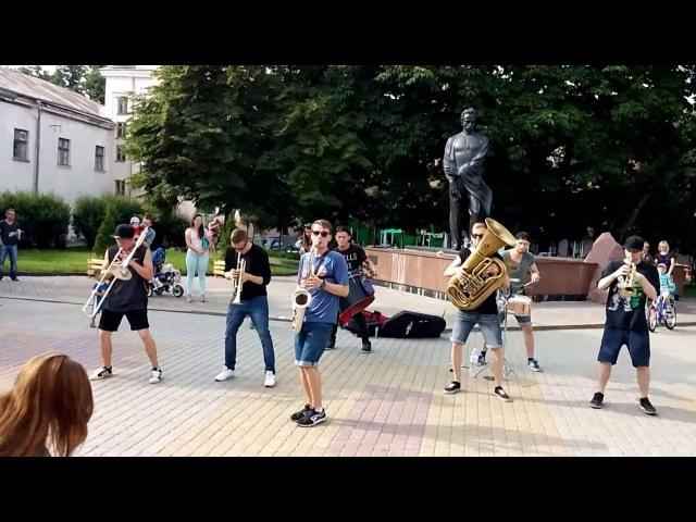 HeartBeat Brass Band у Тернополі (Повний виступ)