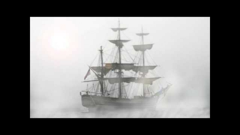 WOODEN SHIP Sounds Effects, Creepy Sailing Ghost Ship with Creaking Wood and Scary Voice