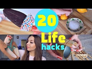 20 лучших Идей| ЛайфХаков|Секретов на все случаи жизни/Life HACKS/Tanyushka StreLove