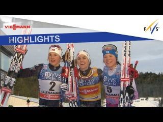 Highlights | Heidi Weng wins the 3-Days Tour in Lillehammer | FIS Cross Country