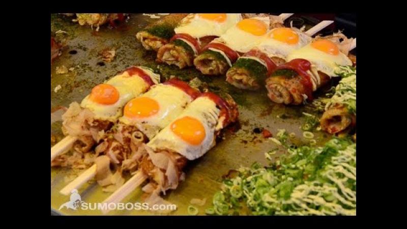 Street Food Japan - A Taste of Delicious Japanese Cuisine Compilation