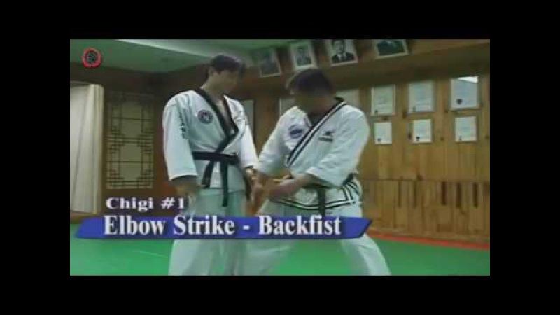 Hapkido Essentials - 3 striking chigi | Основы Хапкидо - удары руками