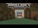 ПЕРВЫЙ МЕХАНИЗМ на КОМАНДНЫХ БЛОКАХ ЛАЗЕРНАЯ ДВЕРЬ Minecraft PE 1 0 5