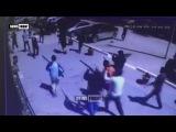 Опубликовано видео с камер наблюдения захвата оружия в Казахстане