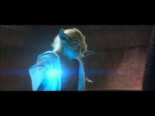 Attack of the Clones - Yoda Vs Count Dooku (HD)