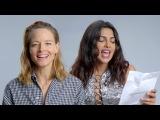 Actresses Priyanka Chopra and Jodie Foster Reinterpret