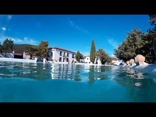 Cañaveral de León 2016 La Laguna Una piscina natural en la Sierra de Aracena HD