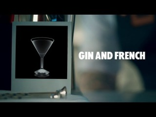 GIN AND FRENCH DRINK RECIPE - HOW TO MIX