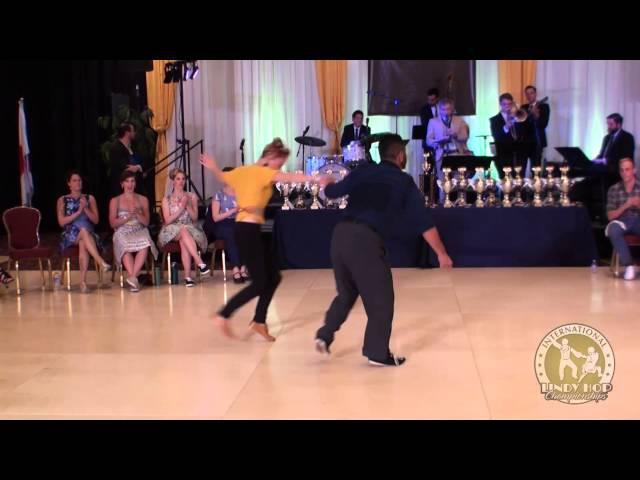 ILHC 2015 - Invitational Lindy JnJ - Mikey Pedroza (US) Mikaela Hellsten (Sweden)