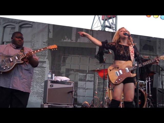 I Put A Spell On You Samantha Fish / Kingfish Ingram TY Curtis @ 2016 Portland WBF 8768