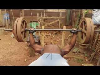 Real african gym.