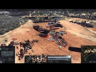 Total War Arena - Warband и Woodsman - это просто имба!