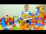 Гигантский Трек с машинками Vtech  Интерактивные машинки для детей