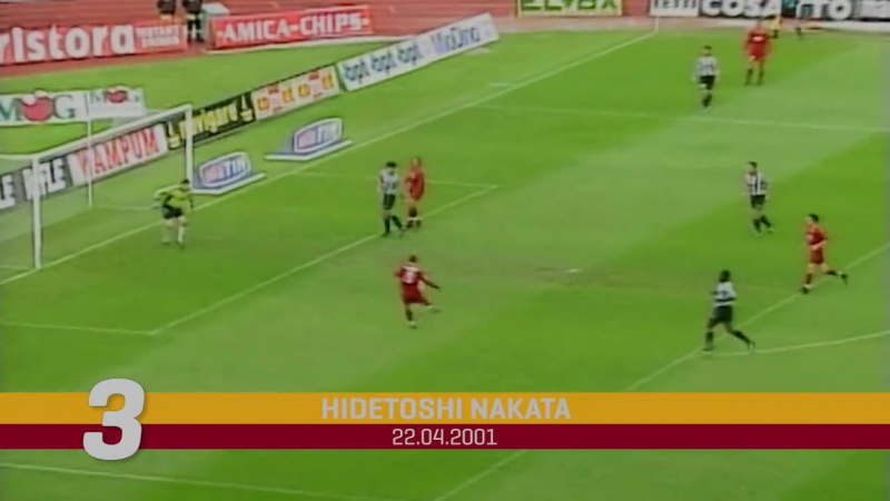 Top Five.The best Roma goals against Udinese
