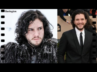 Game of thrones cast in real life and with normal looks. the difference is amazing new