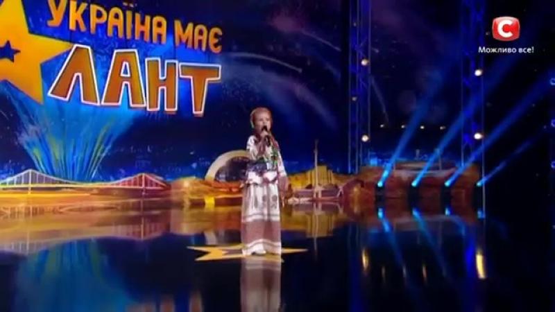 Вероніка Морская. Україна має талант. Неперевершено.