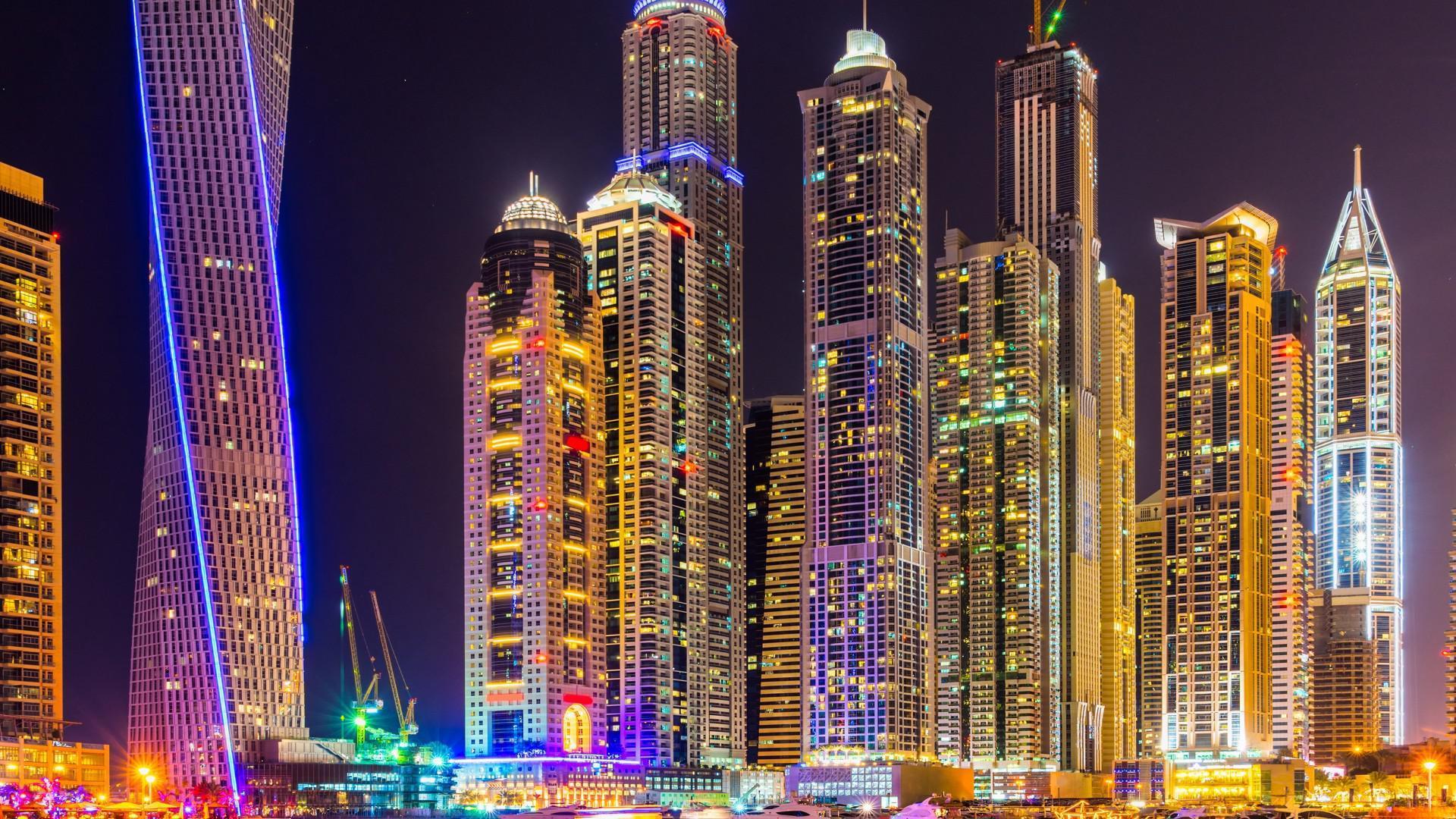 Зимний ценопад на ОАЭ