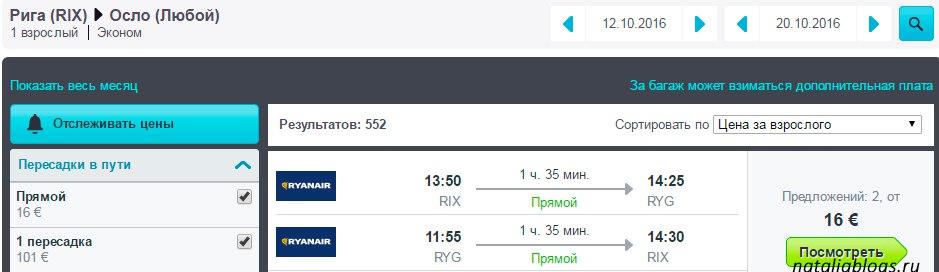 Авиабилеты в Норвегию дешево. Билет Рига-Осло 8 евро. авиакомпания RaynAir