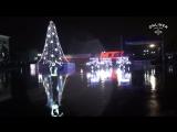 Ничего необычного, просто тракторы танцуют вальс и танго в честь нового года в Белоруссии