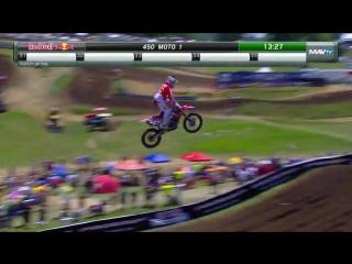 AMA Motocross 2016. Этап 5 - Мадди Крик. Первая гонка 450