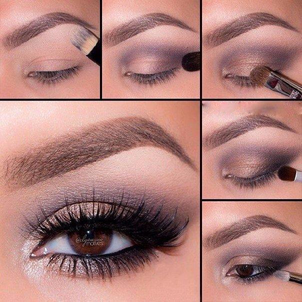 http://www.triinochka.ru/ Урок красивого макияжа для глаз любого цвета. 💋