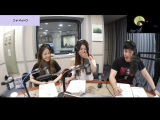 160728 Yujeong Hayun (Brave Girls) @ SBS Power FM Bae Sung-jae's Ten