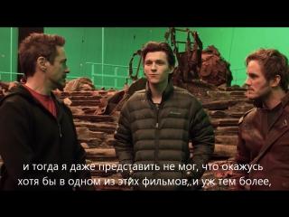 Мстители: Война Бесконечности | Первый взгляд | Русские Субтитры | HD