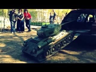 Т-34 в багажнике