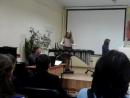 Моя внучка Катя исполняет одно из произведений Шуберта в концерте его памяти.