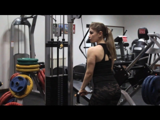 Амир Бсн: Тренировка Юлии Литвиновой