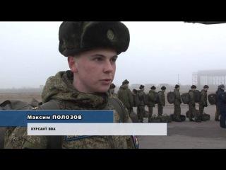 Убытие курсантов и офицеров ВВА на Парад