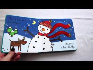 That's Not My Snowman Usborne Book