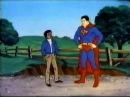 VINTAGE 80'S SUPERMAN CARTOON HEATLH PSA - SAY NO TO DRUGS!