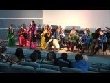 Горловое пение  этническая музыка   ансамбль хакасских народных инструментов