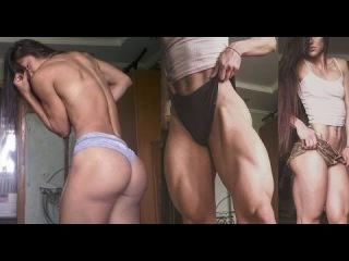 Bakhar Nabieva – Russian Fitness Model – Бахар Набиева – BEST LEGS EVER !