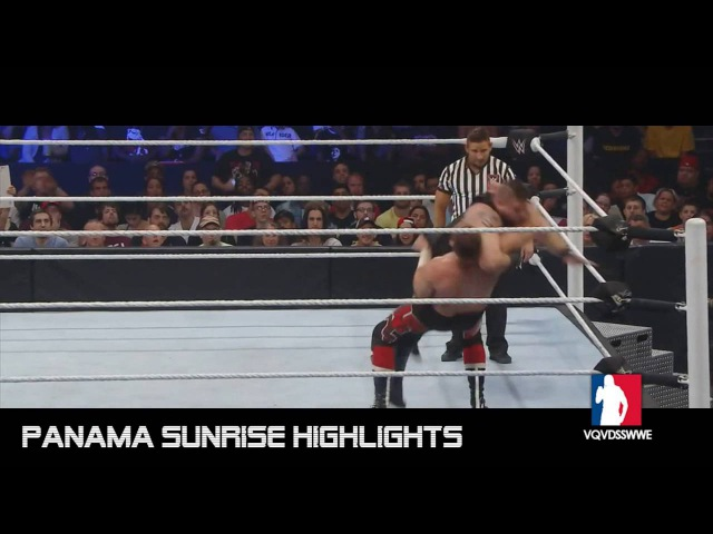 Sami Zayn vs Kevin Owens WWE Battleground 2016 Highlights HD