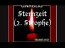Unheilig Sternzeit 2 Strophe