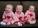 Смешные Тройняшки - Дети смеются. Сборник NEW HD