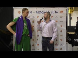 Алексей Овсянкин Мегафон 2. После игры