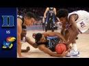 Duke vs. Kansas Men's Basketball Highlights (2016-17)