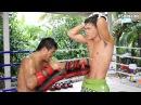 Видеообзор БУЛАТ (РОССИЯ): Muay Thai. Работа на падах