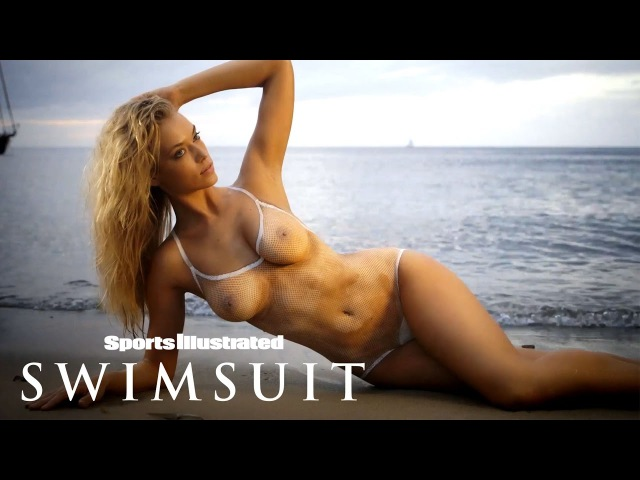 Hannah Ferguson Bears All In Body Paint Shoot | Sports Illustrated Swimsuit