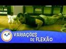 26 VARIAÇÕES DE FLEXÃO DE BRAÇO | Saúde na Rotina