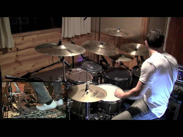 Troy Wright - Polyrhythmic Drum Solo over Metronome - 120bpm