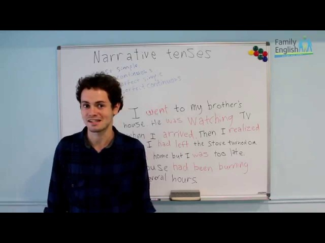 Narrative tenses (Upper-Intermediate)
