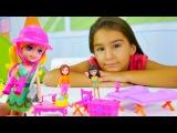 Polly Pocket oyuncakları - kız oyunları. Kukla ve bebek giydirme oyunları Türkçe izle!