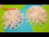 DIY Ribbon Bow Tutorial / Бант для Школы Мастер Класс ❀ Haykanush DIY